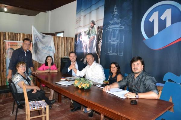 Deputado Afonso Hamm visita municípios da Fronteira Oeste