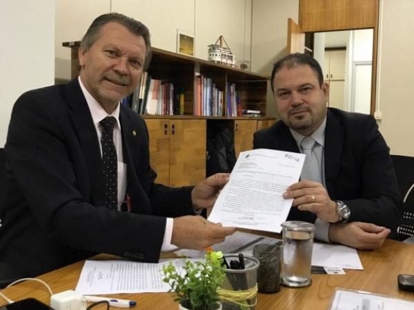 Deputado Afonso Hamm solicita urgência na implantação da Radioterapia da Santa Casa de Bagé