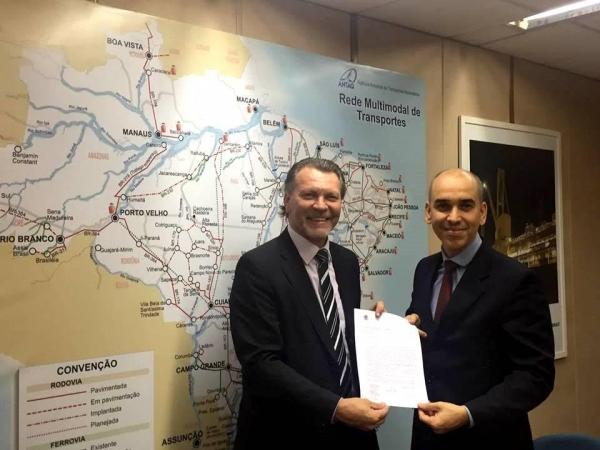 Deputado Afonso Hamm busca recursos para duplicação da BR-116