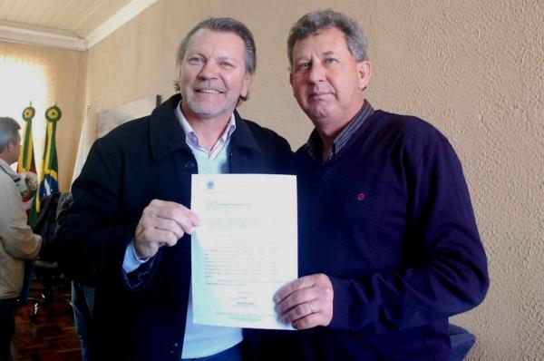 Deputado Afonso Hamm destina emenda para pavimentação em Arroio Grande