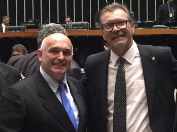 Deputado Afonso Hamm confirma empenho de emenda destinada para Jacutinga