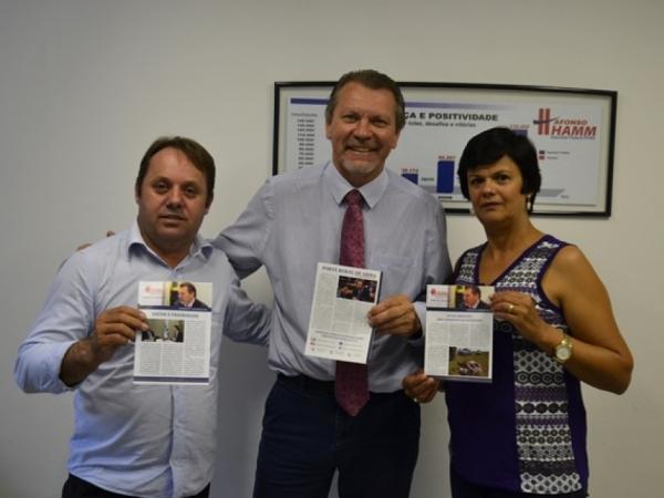 Afonso Hamm confirma emenda para saúde de Caçapava do Sul