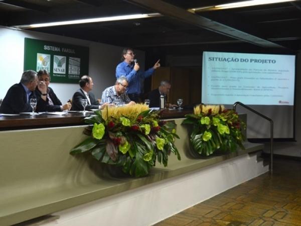 Segurança no campo foi tema de reunião na Expointer 2017
