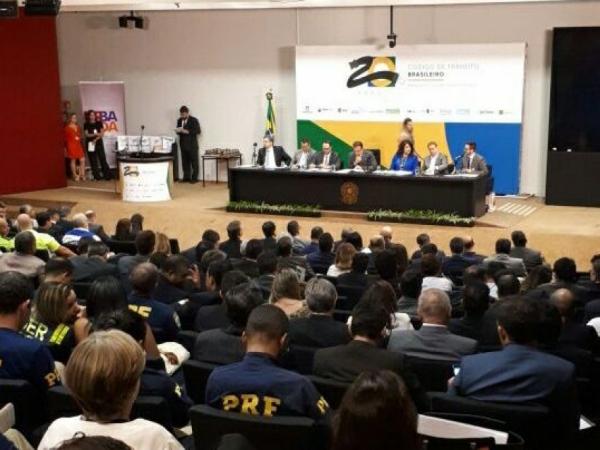 Homenagem aos 20 anos do Código de Trânsito Brasileiro