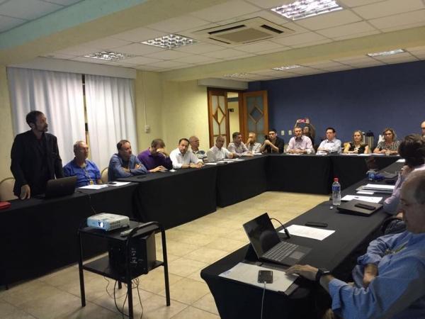 Deputado Afonso Hamm participa de reunião para tratar da política do carvão mineral
