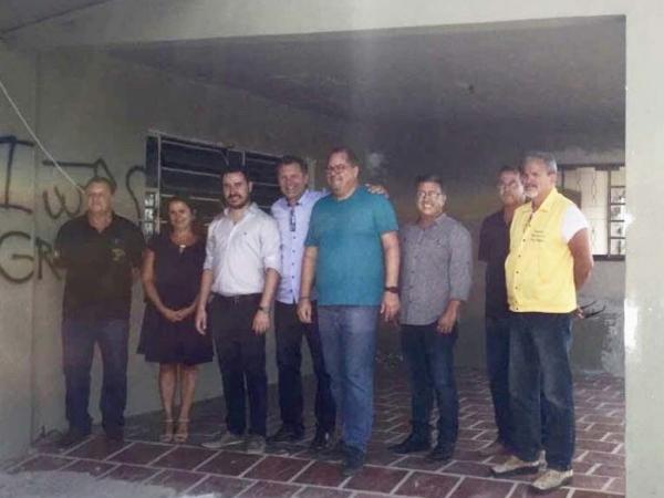 Afonso Hamm visita instalações do Posto Integrado de Fiscalização em Dom Pedrito